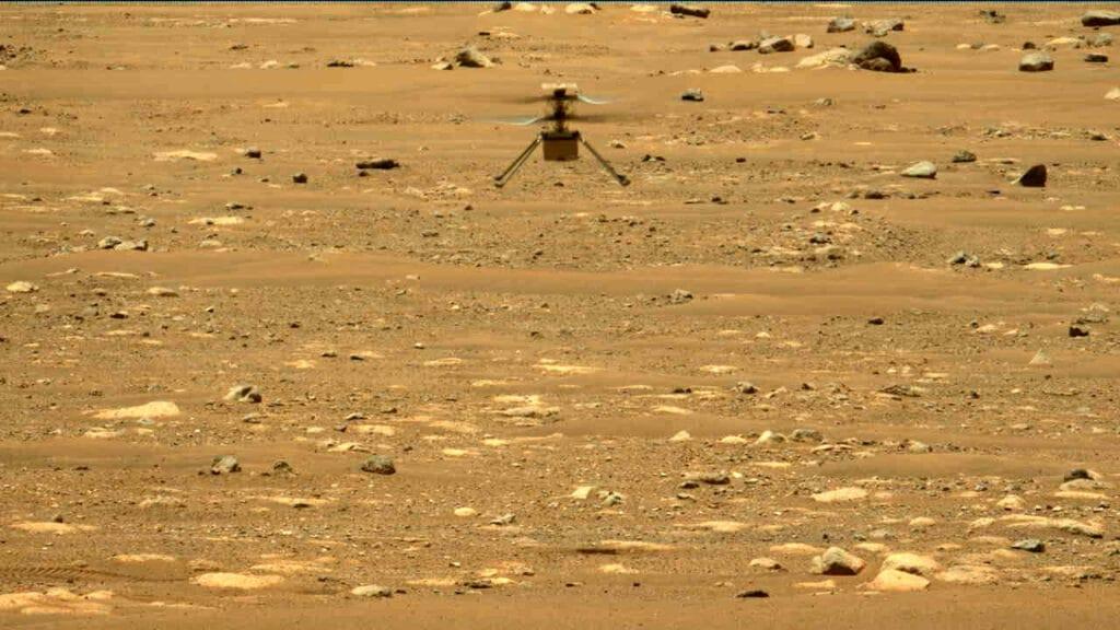 Ingenuity volo Marte