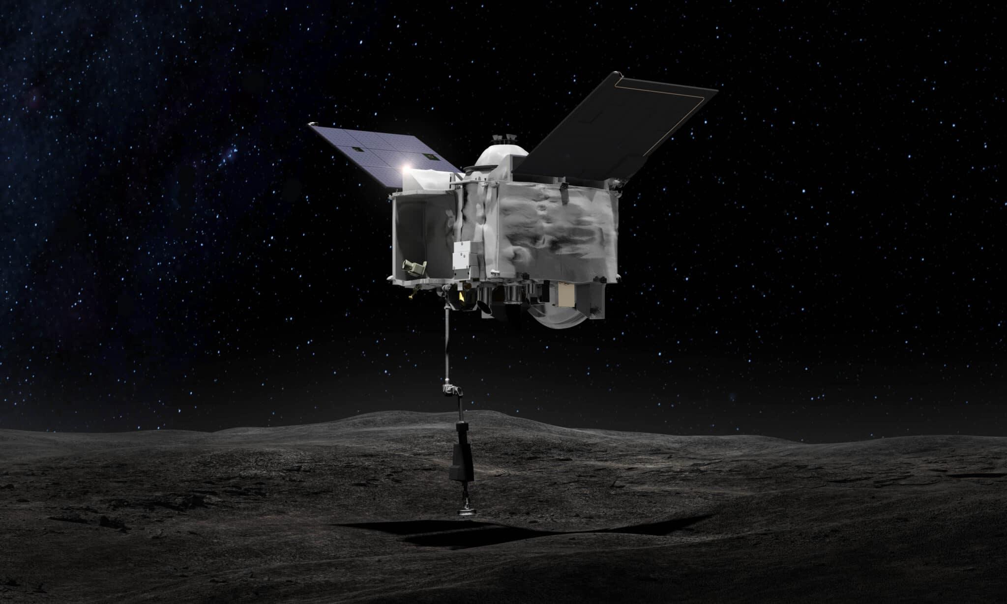Immagini asteroide Bennu da OSIRIS-REx Credits: wikiwand.com