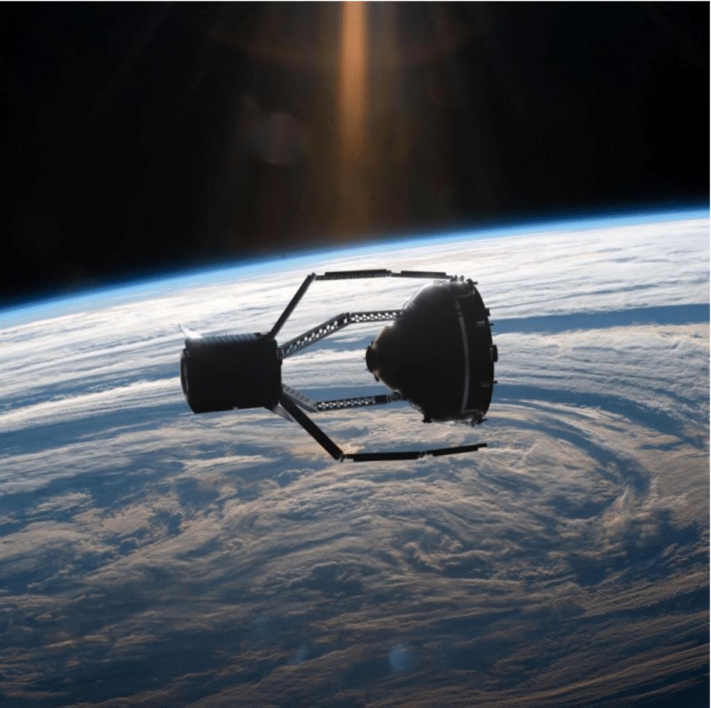 Come avviene rientro detriti spaziali atmosfera