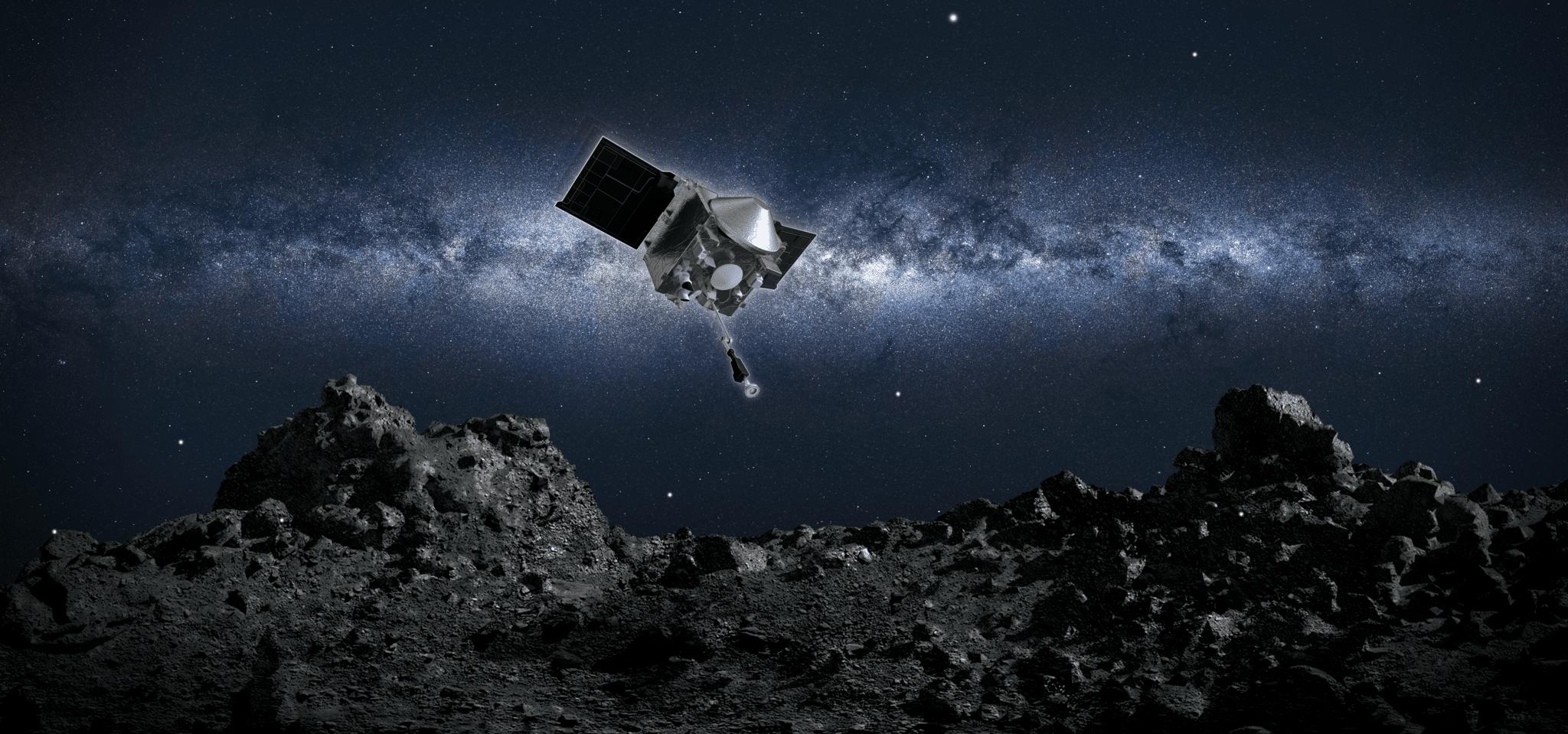 OSIRIS-REx diretta verso la Terra Credit: NASA/Goddard/University of Arizona