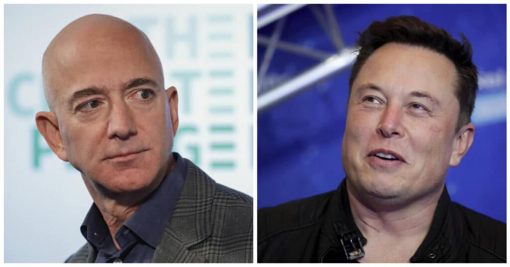La SpaceX stipula un contratto da 2.89 miliardi di dollari ma Bezos non ci sta. Per questo, la Blue Origin ha fatto causa alla NASA.