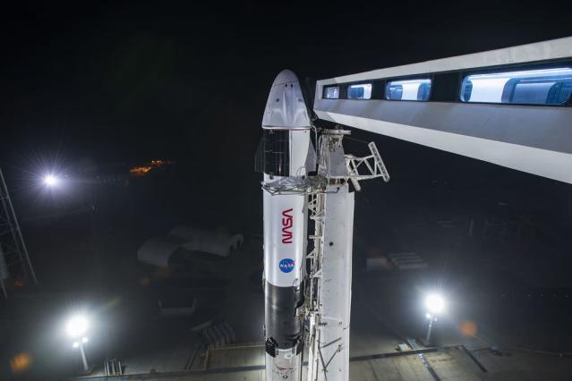 booster Falcon 9 decimo lancio