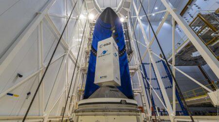 Primo fairing di Ariane 6 arrivato allo spazioporto europeo