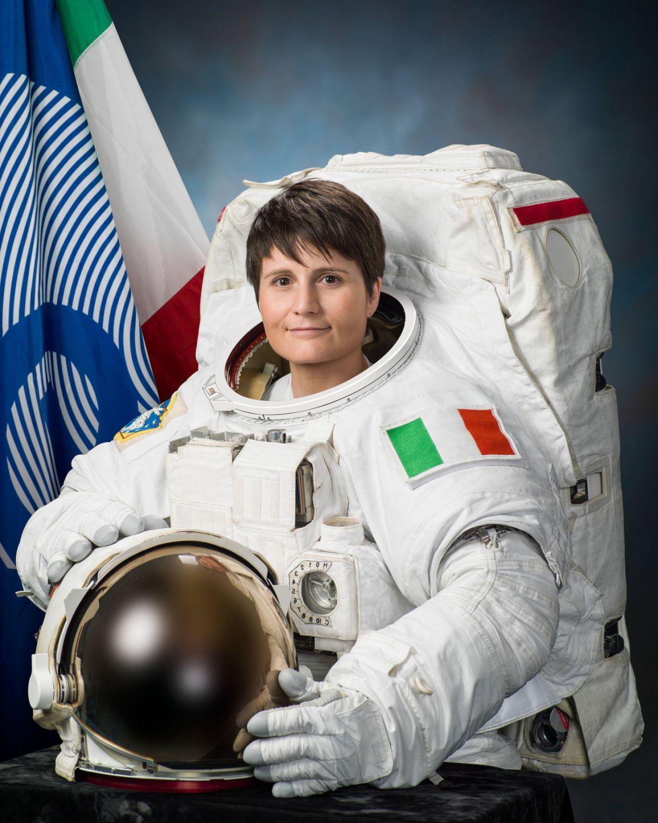 Samantha Cristoforetti.