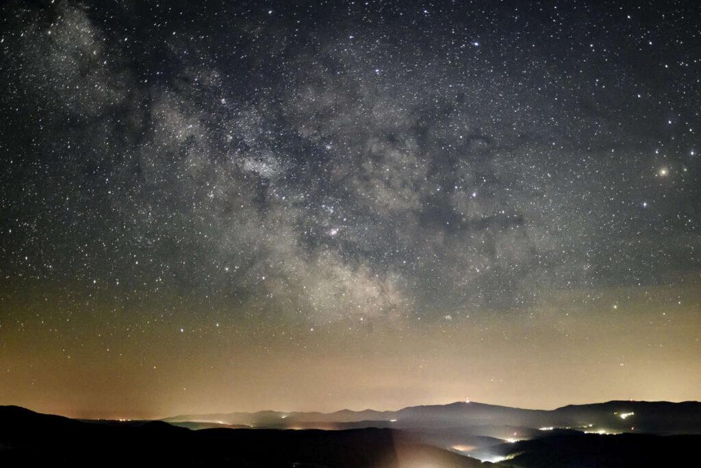 stella lampeggia galassia
