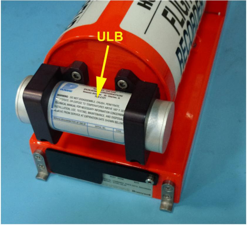 ULB di  scatole nere Credits: ATSB