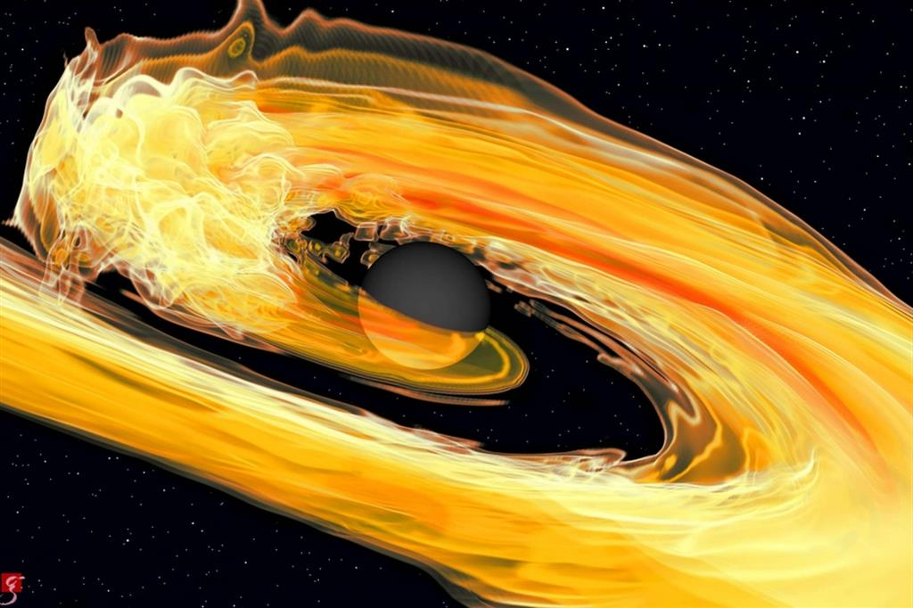 buco nero stella neutroni