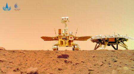 La Cina rilascia le nuove foto a colori del rover su Marte e sono spettacolari