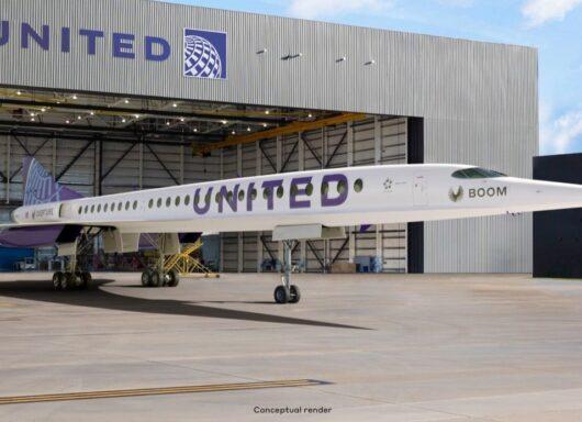Boom Overture: United Airlines punta al trasporto supersonico
