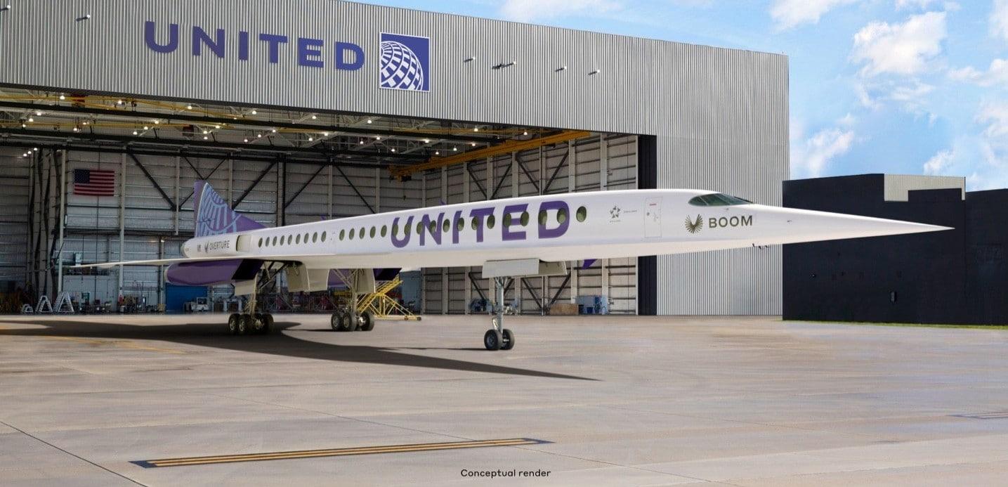 United ordina Overture Boom Credits: Boom Technology