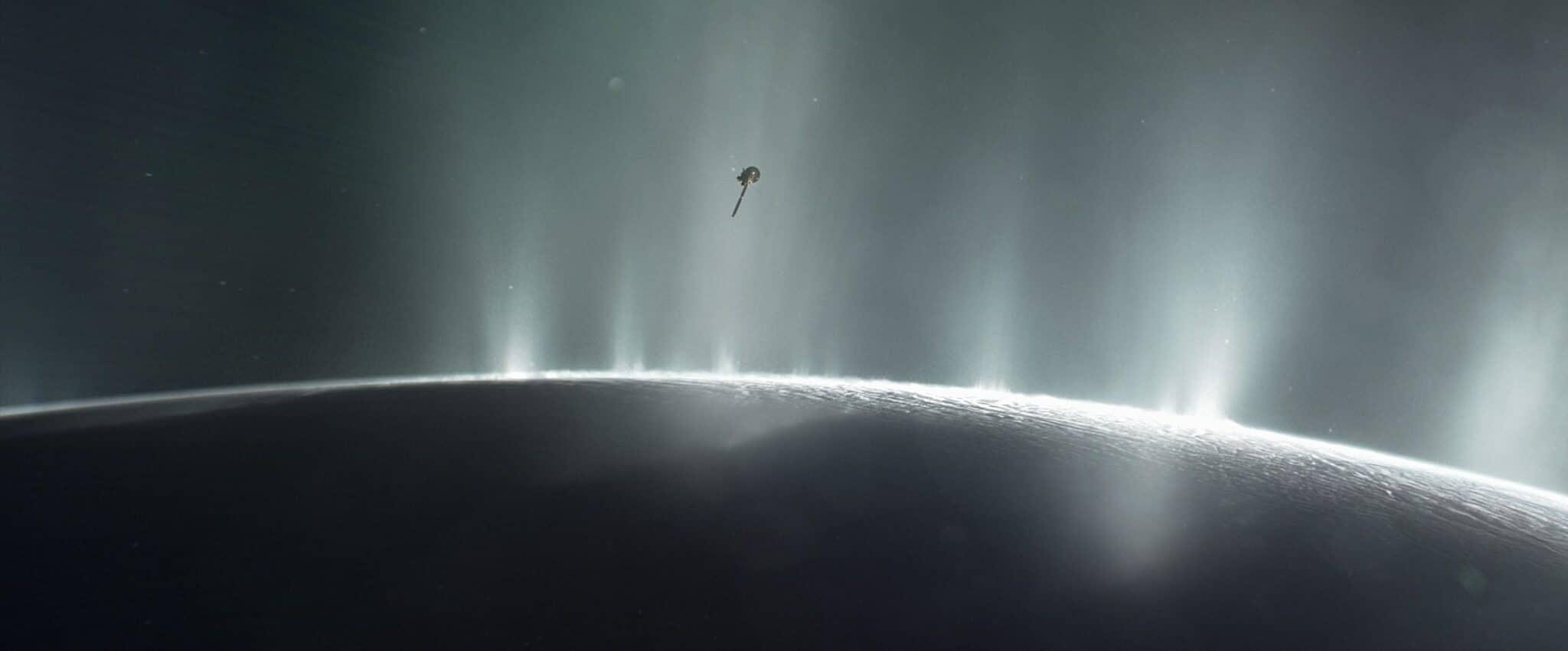 Encelado vita batterica Credits: NASA