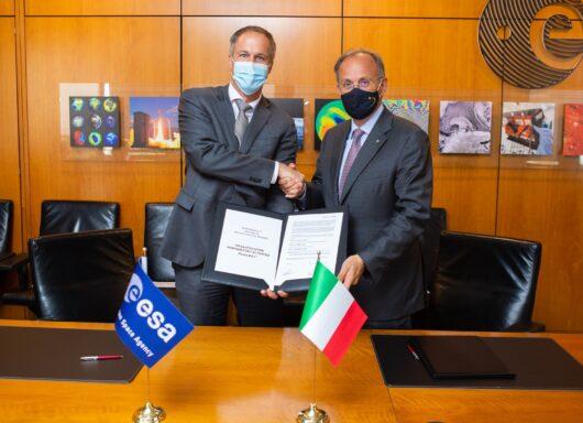 Firmato con ESA un contratto da 118 milioni di euro per il Vega E