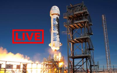 Jeff Bezos pronto al lancio con Blue Origin, segui gli aggiornamenti LIVE