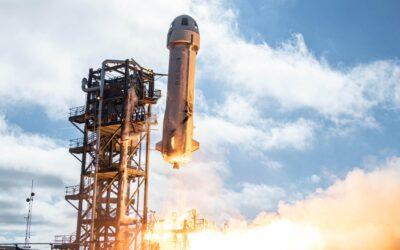 Storico successo per il volo di Jeff Bezos nello spazio con Blue Origin