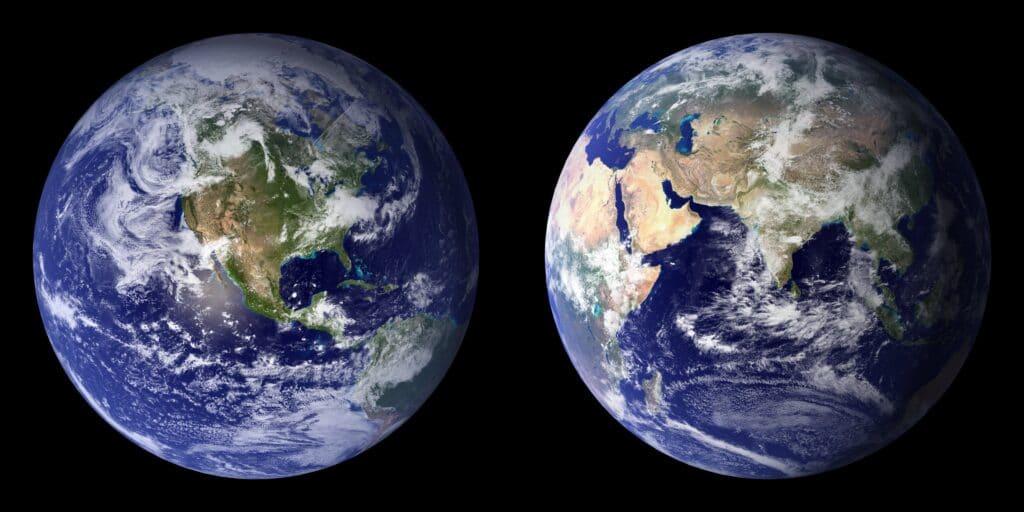 Terra da ESA e NASA