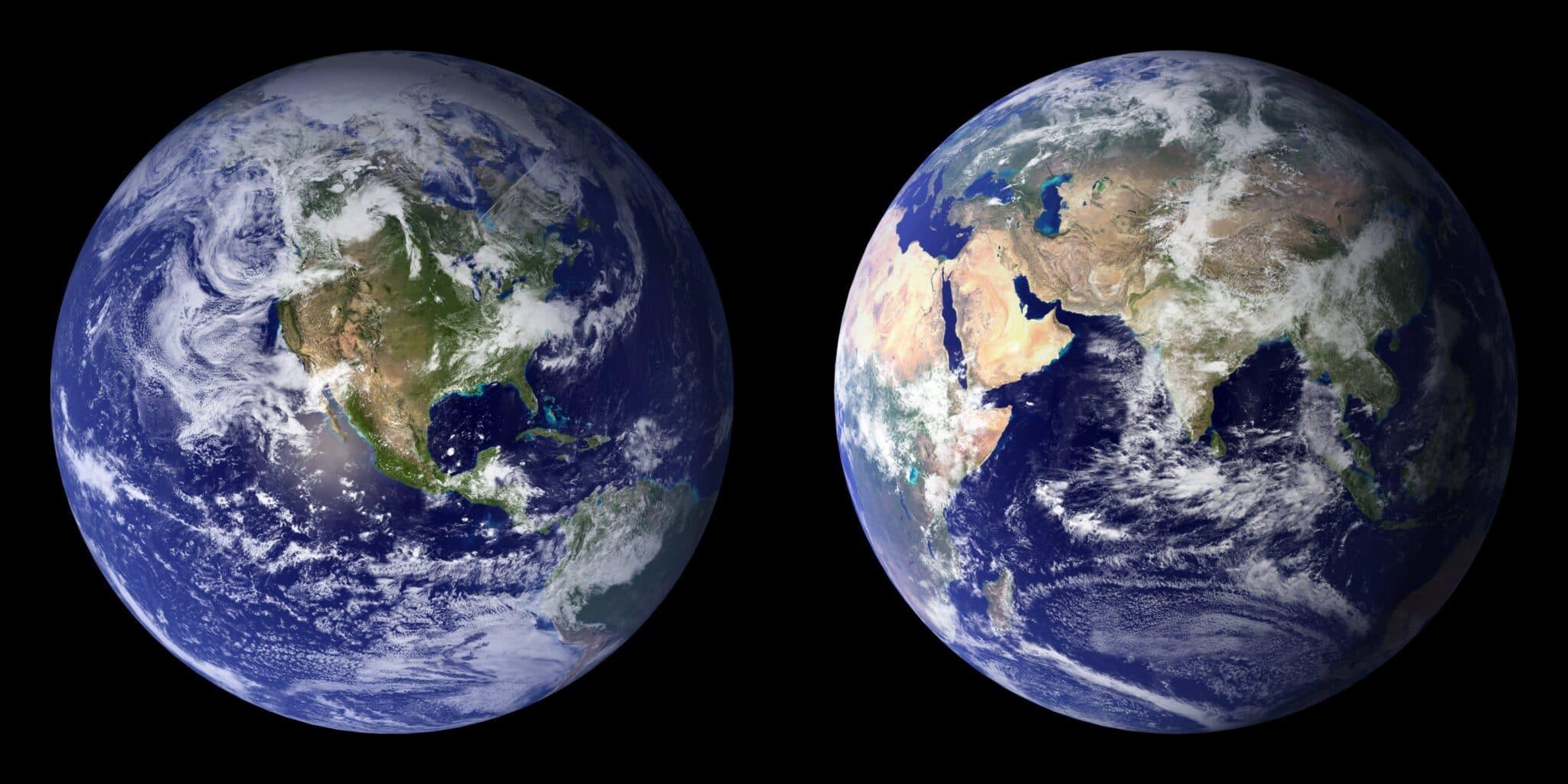 Vista della Terra
