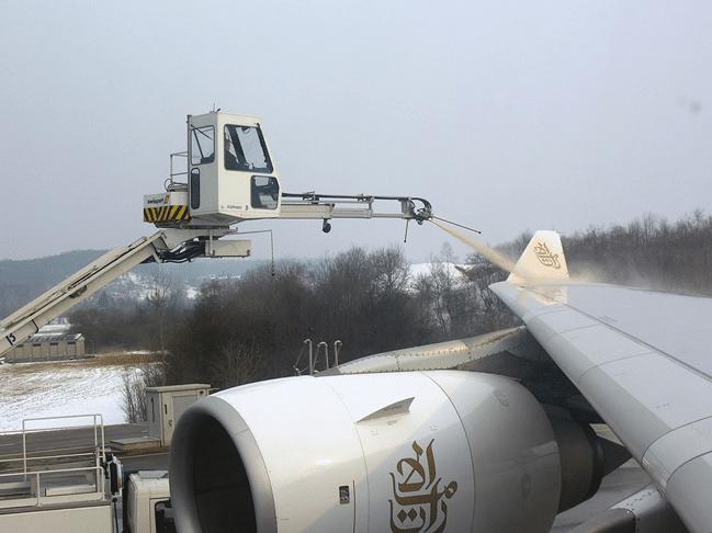 aereo ghiaccio atmosferica