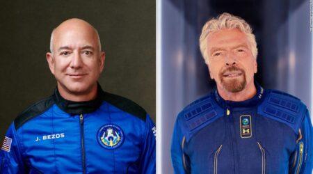 Jeff Bezos e Richard Branson non sono astronauti