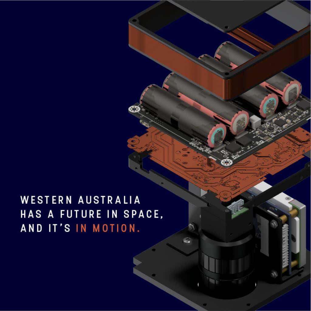 Ora, anche l'Australia fa il suo ingresso nello spazio. Binar-1 è il primo satellite locale della West Australia lanciato in orbita.