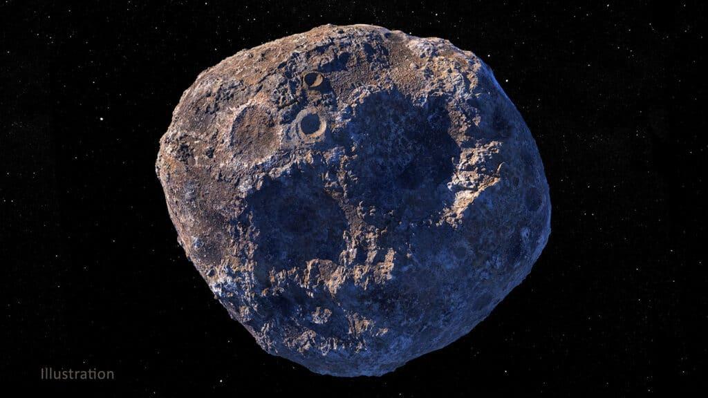 asteroide metallico