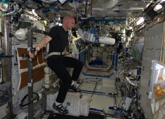 Come si allenano gli astronauti nello spazio in microgravità?