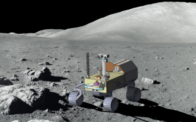 Estrazioni minerarie sulla Luna con l'utilizzo di robot autonomi