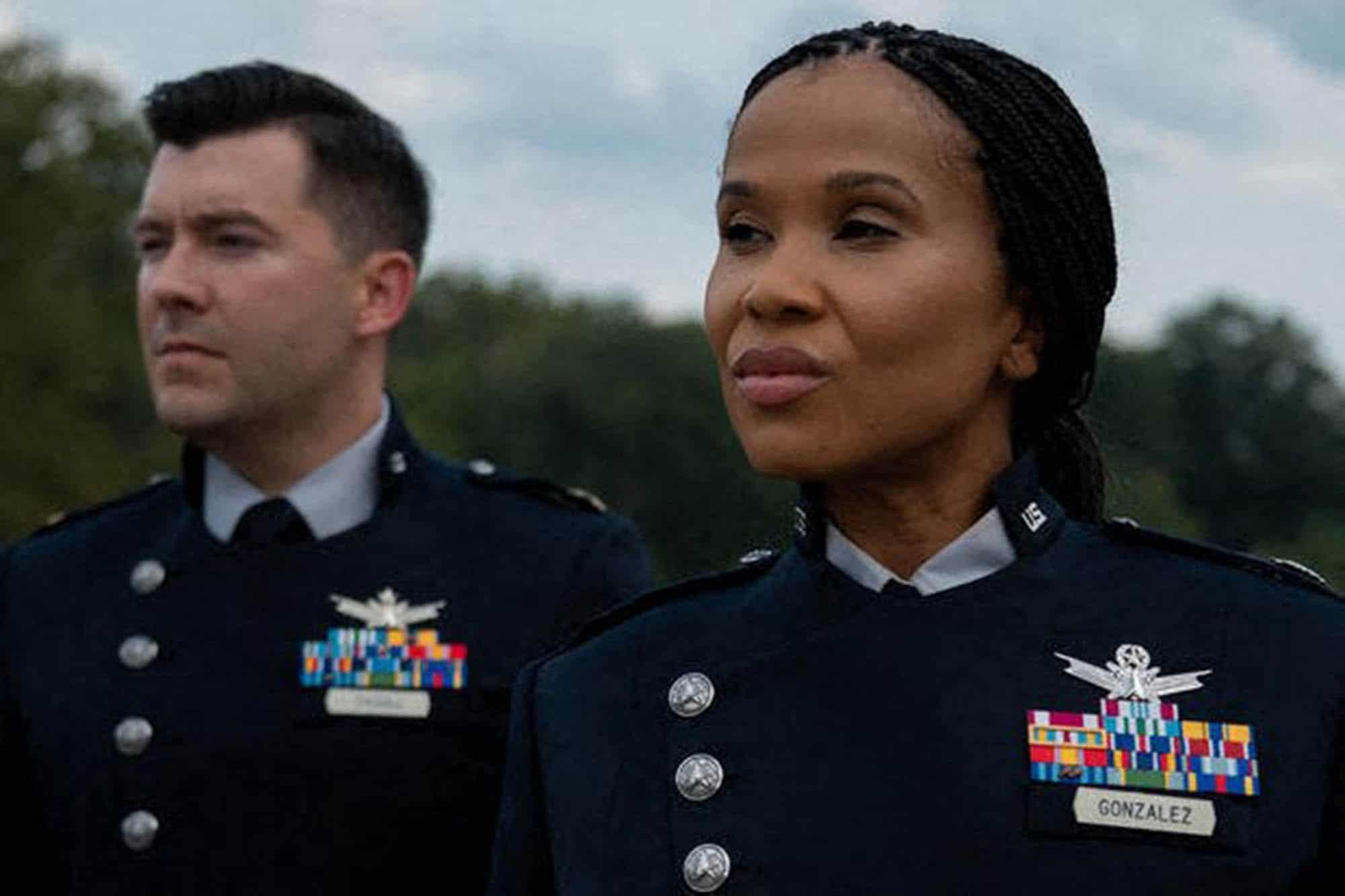 Nuova uniforme per la Space Force. Crediti: AFP/DoD