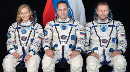 Il primo film girato nello spazio è della Russia: rientrata la troupe